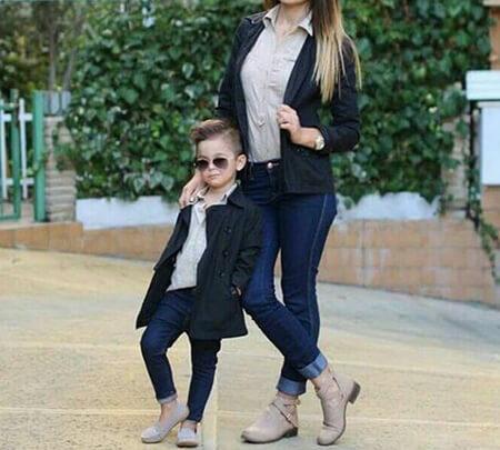 ست مانتو مادر و پسری, لباس های جدید مادر و پسر