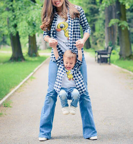 لباس های جدید پسر و مادر,مدل ست مادر پسری