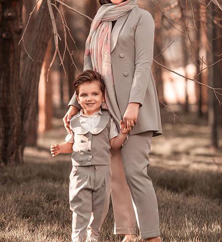 لباس های جدید مادر و پسر, لباس های جدید پسر و مادر