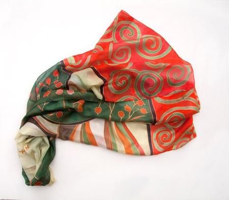 مدل شال و روسری های ویژه ی شب یلدا,شال شب یلدا