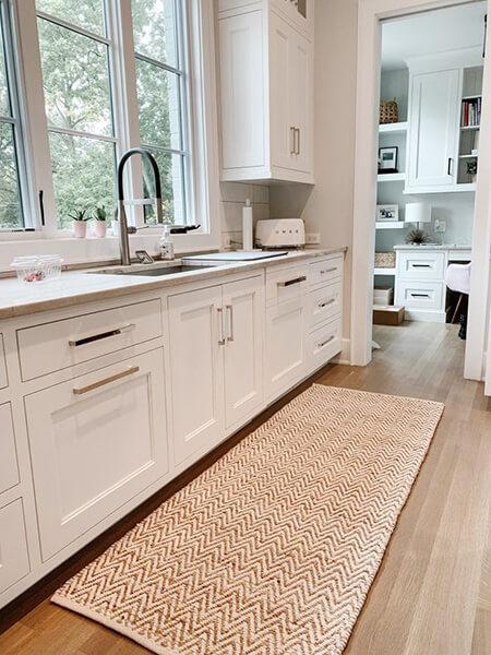 شیک ترین فرش های مدرن آشپزخانه,جدیدترین فرش های آشپزخانه,مدل فرش پتینه آشپزخانه