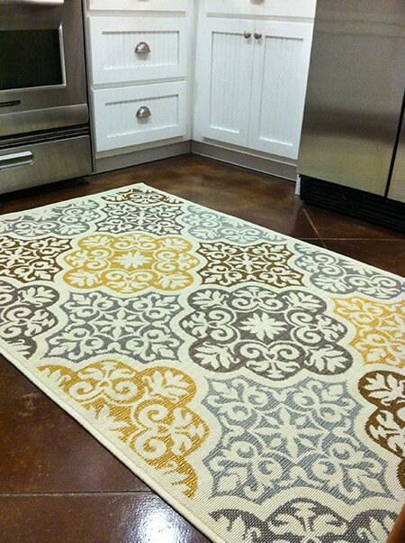 فرش های مدرن آشپزخانه,شیک ترین مدل فرش آشپزخانه,فرش کف آشپزخانه