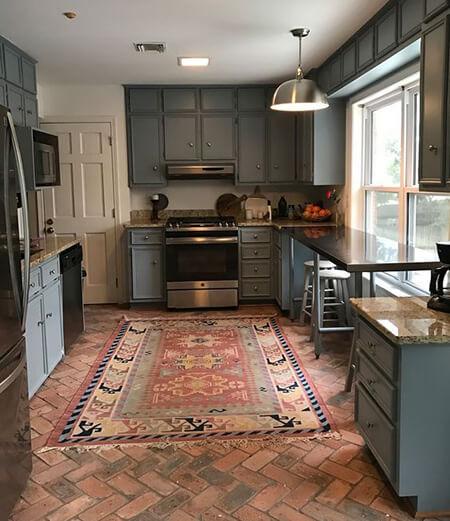 جدیدترین فرش های کف آشپزخانه,مدل فرش مدرن آشپزخانه,شیک ترین فرش های مدرن آشپزخانه
