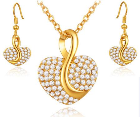 نیم ست های طلا و جواهر, جدیدترین نیم ست های طلا و جواهر