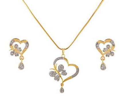 طراحی نیم ست جواهر, نیم ست های طلا و جواهر