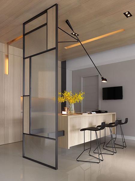 ایده های برای پارتیشن شیشه ای, مدل های پارتیشن شیشه ای