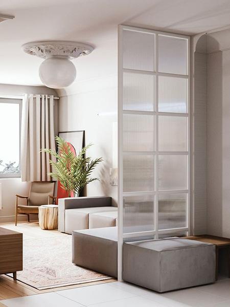 پارتیشن با شیشه, دکوراسیون و طراحی پارتیشن شیشه ای
