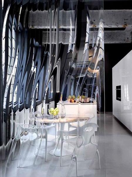 مدل پارتیشن شیشه ای, ایده های برای پارتیشن شیشه ای