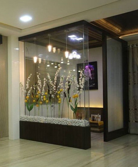 مدل های پارتیشن شیشه ای, طراحی پارتیشن شیشه ای