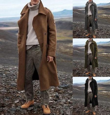 شیک ترین مدل پالتو مردانه, پالتوهای بلند مردانه