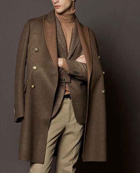 ایده هایی برای پالتوهای بلند مردانه,مدل پالتو بلند مردانه