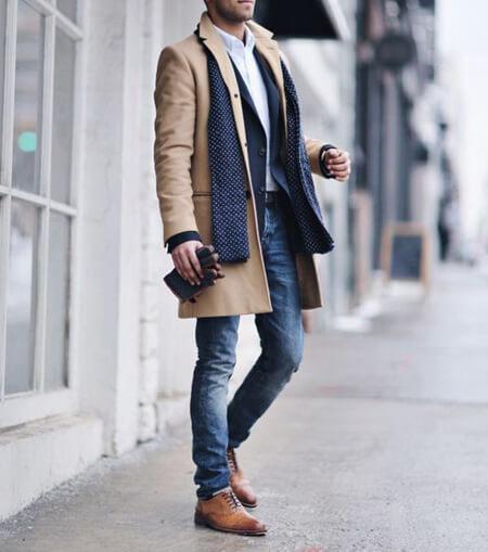 پالتو بلند مردانه, شیک ترین مدل پالتو مردانه