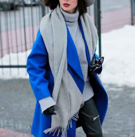 مدل های جدید پالتو به رنگ آبی,مدل پالتوهای جدید آبی رنگ