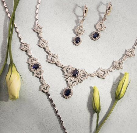 گردنبندهای جواهر, شیک ترین مدل گردنبند جواهر