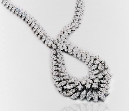سرویس های شیک جواهر,مدل گردنبند جواهر