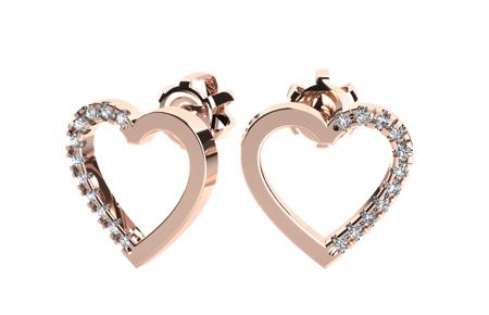 مدل گوشواره های طلا و جواهر, زیباترین گوشواره های طلا