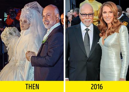 تفاوت سنی زوج های هالیوودی,سن های زوج های هالیوودی