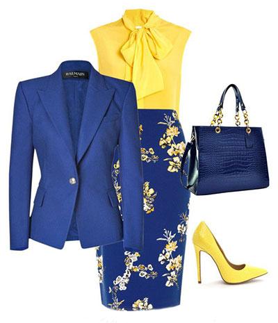 رنگ کفش با لباس زرد, بهترین رنگ کفش با لباس زرد