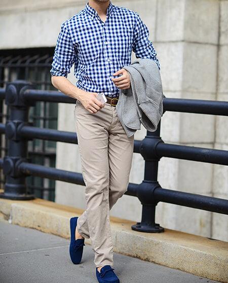رنگ های ست کردن با کفش آبی, ایده هایی برای ست های کفش آبی