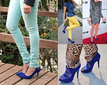 ایده هایی برای ست های کفش آبی, نحوه ست کردن با کفش های آبی