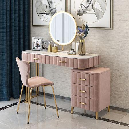 مدل میز توالت ساده, میز آرایشی پارچه ای
