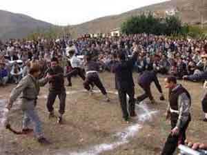 بازی محلی قلان,بازی محلی,بازی محلی ایرانی,بازیهای سنتی