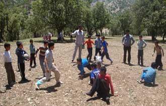 بازی محلی والیبال کتکی,بازیهای محلی کهکیلویه و بویر احمد