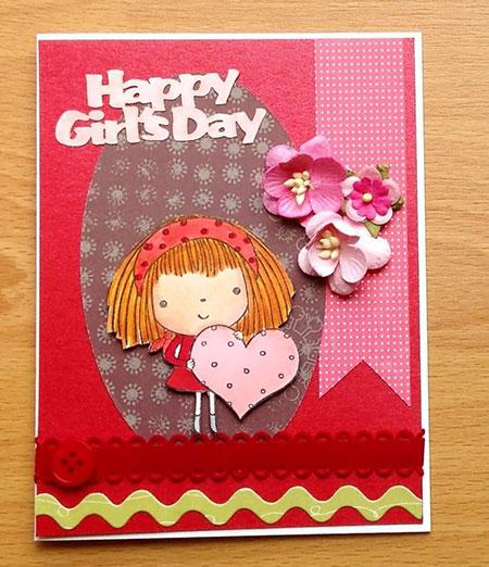 تصاویر کارت پستال های تبریک روز دختر,کارت پستال روز دختر