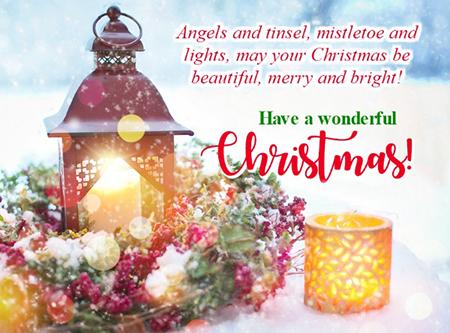 کارت پستال تبریک کریسمس, کارت پستال جشن کریسمس