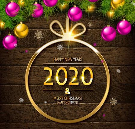 کارت پستال تبریک سال 2020, تبریک سال نو