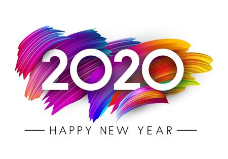 عکس های تبریک سال 2020, کارت پستال آغاز سال 2020