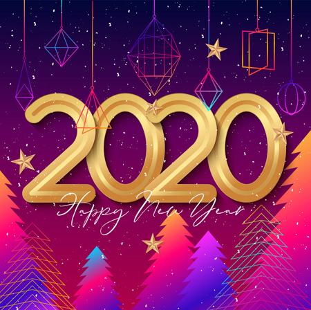 تصاویر تبریک سال 2020, تبریک سال 2020 میلادی