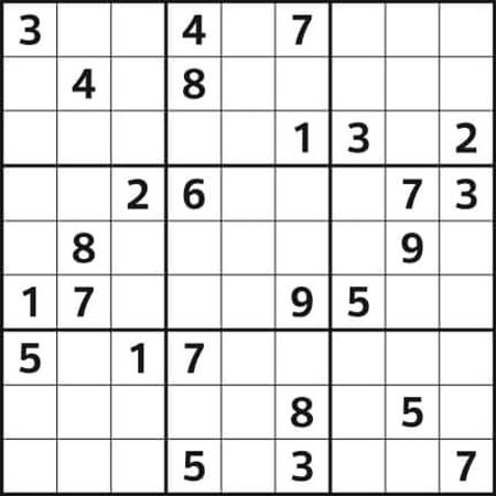 حل جدول سودوکو, روش حل جدول سودوکو