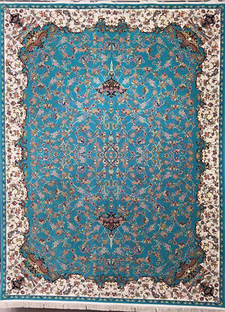 اصول ست کردن با فرش و مبل فیروزه ای, نکاتی برای ست کردن با فرش فیروزه ای