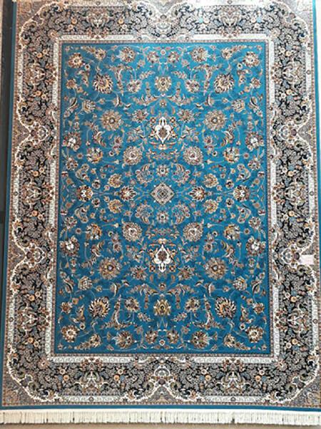 فرش فیروزه ای, راهنمای ست کردن با فرش فیروزه ای