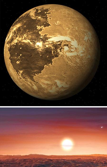 سیاره های قابل سکونت, تصاویر سیارات قابل سکونت