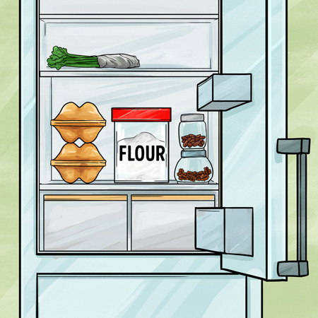 بهترین مکان برای نگهداری مواد غذایی,مکان مناسب برای نگهداری از مواد غذایی