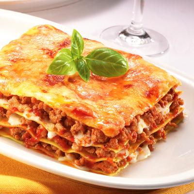 دستور پخت لازانیا,تزیین لازانیا