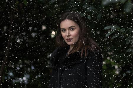 افکت در فتوشاپ, اضافه کردن برف به عکس