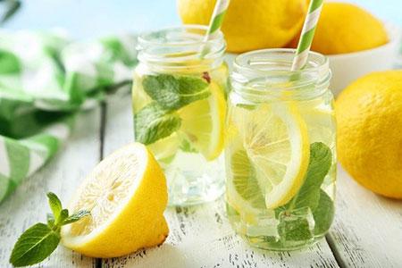 آب قلیایی,ساخت آب قلیایی با لیمو, ساخت آب قلیایی در خانه