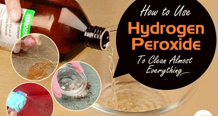 کاربردهای آب اکسیژنه,آب اکسیژنه برای ضدعفونی،سفید کننده