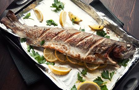طرز پختن ماهی,طرز درست کردن ماهی