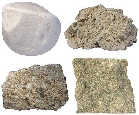 انواع سنگ آهک,سنگ آهک کوکینا,سنگ آهک تراورتن