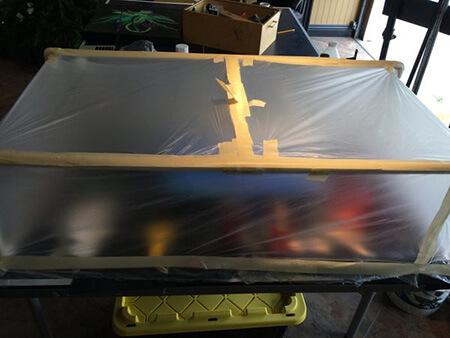 آموزش ساخت هنر رزین اپوکسی روی چوب,آموزش رزین اپوکسی