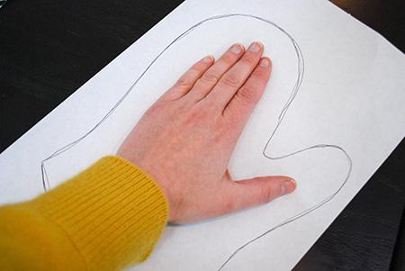 آموزش تصویری دوخت دستکش فر, دوخت مرحله ای دستکش فر, تکنیک های دوخت دستکش فر