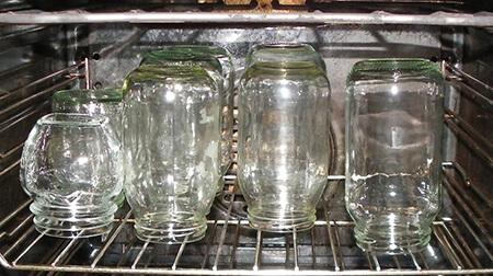 استریل کردن شیشه های کنسرو,نحوه استریل کردن شیشه های کنسرو