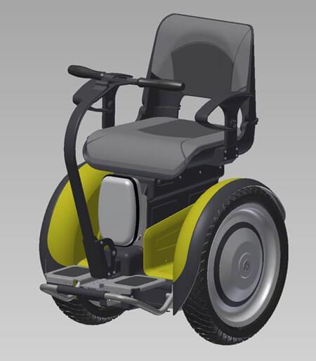 ایده هایی برای ویلچرها,انواع ویلچرهای برقی