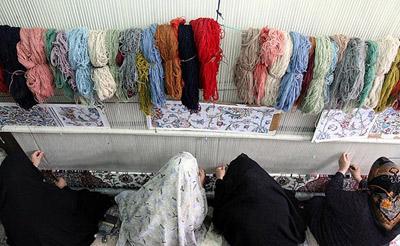 انواع گره ها در قالی بافی, گره فارسی