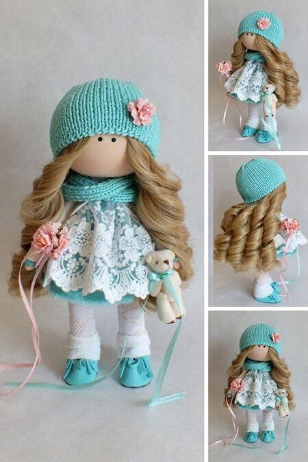 مدل عروسک های روسی, تزیین عروسک روسی