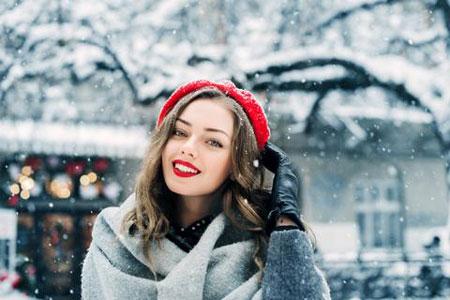 آرایش در زمستان, نبایدهای آرایشی در زمستان, آرایش پائیز و زمستان